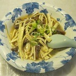 虎 - 竹の子牛肉炒め(1000円)