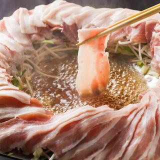 宴会用食べ放題メニュー!国産豚肉しゃぶしゃぶ食べ放題プラン