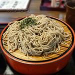 武蔵野 丼ぶり道場 - 料理写真:ざるそば