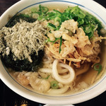 大介うどん - No.1 udon noodle/セルフサービスのうどん ※ボウルの大きさで値段が100円ぐらい違います。こちらは小さい方です。