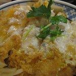 恵比寿庵 - かつ丼