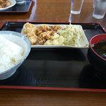 お食事処 ひろちゃん - から揚げ定食