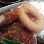 天竺curry - 天ちゃんランチ(カレーにサラダのセット) 通常1,000円・ランチパスポートで500円