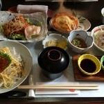 遊魚菜 平翁 - いか三昧(1850円)