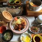 遊魚菜 平翁 - 活いかづくし(3700円)