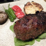一富士 - ホホ肉のハンバーグ