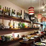 ワイン食堂 グリッツ - 1階カウンター席