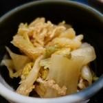 もりと - (2015/2月)白菜と油揚げの煮浸し
