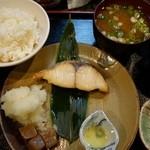 もりと - (2015/2月)日替り焼魚定食(鰆)