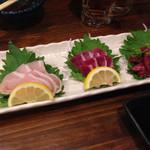焼鶏 和 - 料理写真:鶏刺し盛り