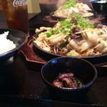 焼肉ぷるこぎ - ぷるこぎランチ
