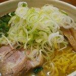 麺や いつき - みそラーメン750円+大盛・ネギトッピング各100円 2015.3