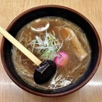 らーめん信玄 - 水戸・こってり醤油(760円)