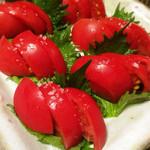 たかはし - 冷やしトマト☆凄くみずみずしい!!