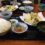 ふく一 - 料理写真:日替定食(天ぷら)