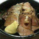 しゃぶ亭 - 煮豚 400円 豚の紅茶煮です。