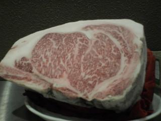 しゃぶ亭 - グルメ牛セット 130g 3900円 黒毛和牛A5ランク リブロース