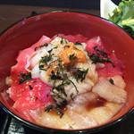 36360594 - 北地蔵 海鮮丼アップ  2015年3月
