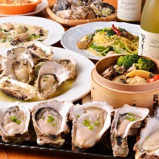 【全国より新鮮牡蠣の濃厚な味わいをご提供】自慢の牡蠣料理