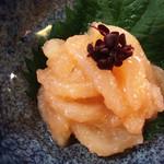 粋鮮 - お通しのイカ明太!も美味しいっ