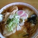 神柳亭 - 料理写真:チャーシュー麺(750円)