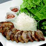 王豚足(包み野菜付)