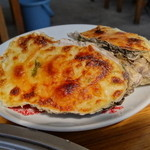 浜英水産 - 牡蠣グラタン