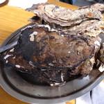 浜英水産 - 焼き牡蠣