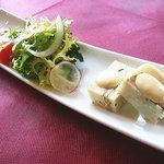 シャランドリラ - 前菜 サンマとジャガイモのテリーヌ
