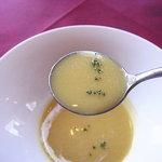 シャランドリラ - サツマイモのクリームスープ