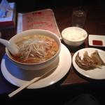 龍門飯店 - 麺セット
