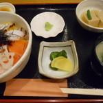 和彩料理やまなか - 海鮮ちらし丼セット