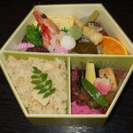 四季の料理 うえ野 - 料理写真:春の京づくし弁当