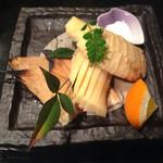 鮨てしま - 若竹の焼き物