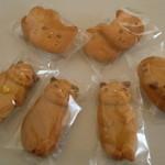36386544 - 2Ⅾクッキーと3Ⅾクッキー♪自家製NYANKOのブリテッシュショートヘアー(兄妹)クッキー♪店主さんの愛猫モデル♪