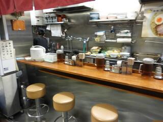麺屋ひょっとこ 交通会館店 - かわいらしいお店です