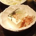 りん屋 - 冷奴 150円