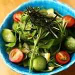 備長 - 女性に大人気!うなぎとバランス良く『野菜サラダ』