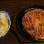 アホロートル - ナポリタン750円