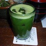 クワセヤ アラシ - 抹茶割り 500円