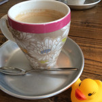 36390467 - 自家製ブレンドコーヒー500円。酸味・苦味少なめで飲みやすいです!