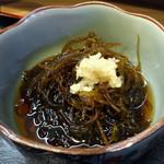 36391067 - 「天ぷら定食」もずく酢