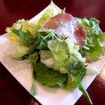 PIZZA DINING JOYs - 料理写真:セットのサラダ!(2015,03/25)