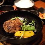 BAKURO - 和牛ハンバーグセット