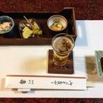 壽 - 料理写真:前菜3種