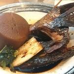 炉ばた 魚魚炭 - 真鯛のかまと大根の煮物