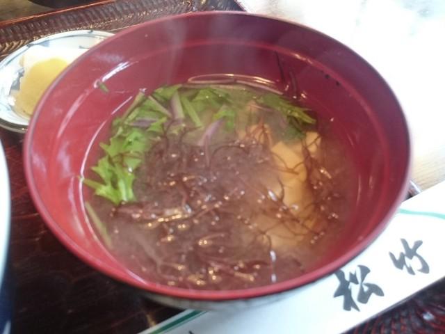 和風レストラン 松竹 - 激ウマみそ汁