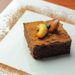 オーガニックカフェ han - マクロビチョコレートケーキ