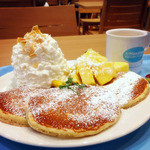 Hawaiian Pancake Factory - パインココナッツ580円
