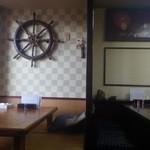 ささや食堂 - 舵輪